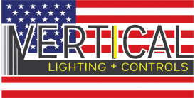Vertical Lighting + Controls Logo